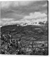 Volcan De Agua - Ciudad Vieja I Canvas Print