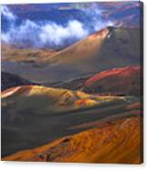 Volcanic Crater In Maui Canvas Print