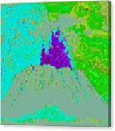 Volcano D4 Canvas Print