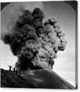Volcano: Java, 1910 Canvas Print