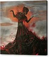 Volcano Keeper Canvas Print