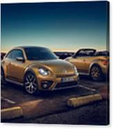 Volkswagen Beetle Dune 4k 2 Canvas Print