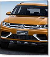 Volkswagen Crossblue Canvas Print