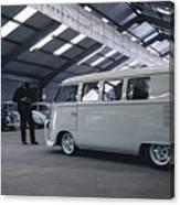 Volkswagen Microbus Canvas Print