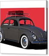 Volkswagen Vw Beetle Canvas Print