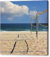 Volleyball Net Canvas Print