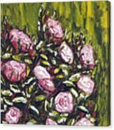 Vonave Ruze Canvas Print