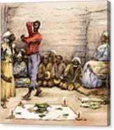 Voodoo Dance, 1885 Canvas Print