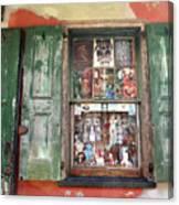 Voodoo Window Canvas Print