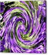 Vortex Abstract Art No. 14 Canvas Print