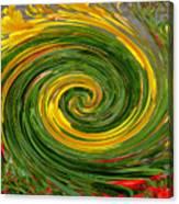 Vortex Abstract Art No. 16 Canvas Print