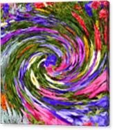Vortex Abstract Art No. 18 Canvas Print