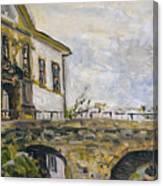 Vstup Na Zamek Canvas Print