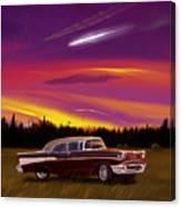 Vintage Stars Canvas Print