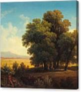 Vue Af Romerska Campagnan Canvas Print
