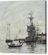 Vue De Venise Canvas Print