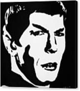 Vulcan Spock Canvas Print
