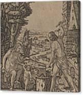 Vulcan, Venus, And Eros Canvas Print