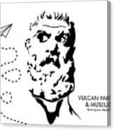 Vulcan's Airplane Canvas Print