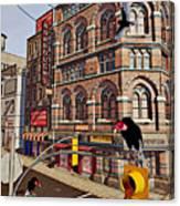 Vultures On Main Street Canvas Print
