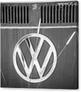 Vw Van Logo Canvas Print