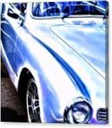 Vw Vintage Sports Car Canvas Print