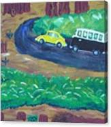 Vws In The Redwoods Canvas Print