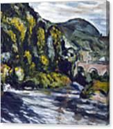 Vyhlidka Canvas Print