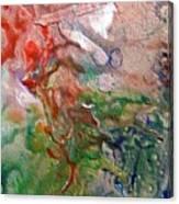 W 019 - Amoebae Canvas Print
