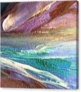 W 034-comet Canvas Print