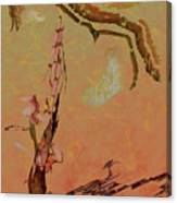 Wabi Sabi Ikebana Canvas Print
