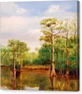 Waccamaw Breeze IIi Canvas Print