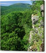 Wachusett Mountain From Crow Hill Canvas Print