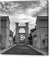 Waco Historical Suspension Bridge Canvas Print