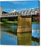 Waco Suspension Bridge 2 Canvas Print