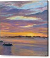 Wades Beach Sunset Canvas Print