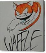 Waffle Canvas Print