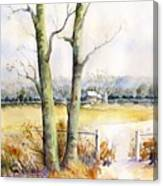 Wagner's Farm Canvas Print