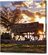 Wagon Hdr Canvas Print