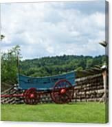 Wagon Hoa Canvas Print