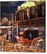 Wagon Repair Canvas Print