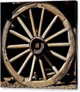 Wagon Wheel Texture Canvas Print