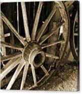 Wagon Wheels 3 Canvas Print