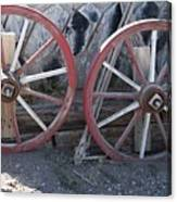 Wagon Wheels. Canvas Print