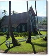 Wai Oli Hui Ia Church Canvas Print