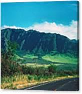 Waianae Mountains Canvas Print