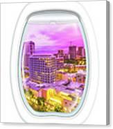 Waikiki Porthole Windows Canvas Print
