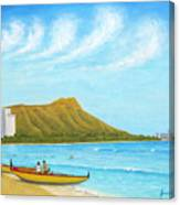 Waikiki Wonder Canvas Print