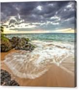 Wailea Sunset From Maui Canvas Print