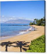 Wailea, Ulua Beach Canvas Print